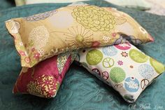 D.I.Y. Rice Sack Heating Pads @Stephanie Close {Eat. Drink. Love.}