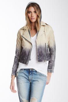 Doma Fade Leather Jacket