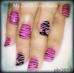 Client acrylic set Zebra by me