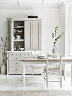 The Big Declutter Challenge: How to create a clutter-free, clean and organised kitchen Shaker Style Kitchens, Shaker Kitchen, Kitchen Tops, New Kitchen, Home Kitchens, Kitchen Dresser, Kitchen Cabinetry, Kitchen Larder, Kitchen Organization