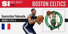 The Boston Celtics select Guerschon Yabusele at No. 16 http://on.si.com/NBADraftLIVE  6/23/2016