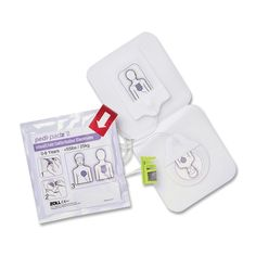 Pediatric electrodes are designed for use with the AED Plus (sold separately)…