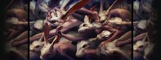 Ryohei Hase, serie Repetition, Go forward and forward, arte digitale 2560x1440 Wallpaper, Designer Couch, Year Of The Rabbit, Surreal Artwork, Art Portfolio, Dark Art, Amazing Art, Fantasy Art, Creepy