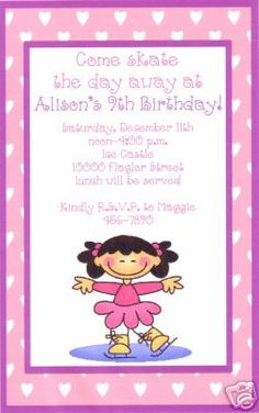 6th Birthday Party Invitation Wording Pretty Pink Free Printable Invitations