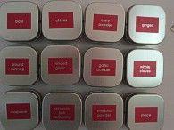 die besten 25 magnetic spice tins ideen auf pinterest magnetische gew rzgl ser. Black Bedroom Furniture Sets. Home Design Ideas