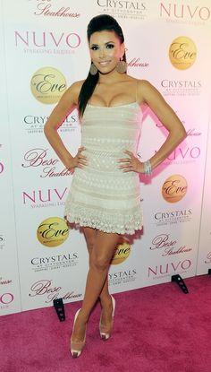 Eva Longoria Style, Brian Atwood, Peplum Dress, Hair Styles, Satin, Sexy, Fashion Beauty, Hair Plait Styles, Hairdos