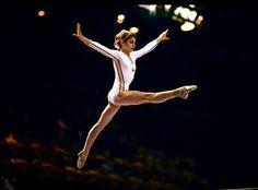 Nadia Comaneci...perfect 10