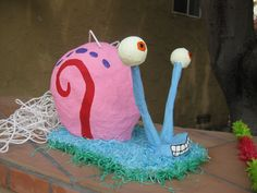 Gary the Snail Pinata