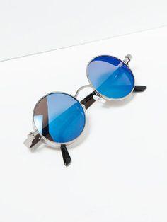 10 meilleures images du tableau Accessoires   Round frame sunglasses ... e3973145ada9