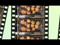 Fried Scallops Recipe - Served with  Tartar Sauce and Greek Rice