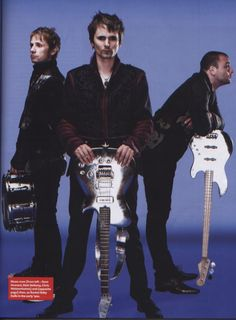 MUSE : 2009 MUSE Photo Session (Q The Music Magazine)