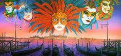 Ladies of Venice Scenic Backdrop