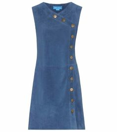 Embroidered Denim Pinafore Dress by Glamorous Petite in 2020 Casual Dresses, Fashion Dresses, Suede Dresses, Mode Jeans, Denim Ideas, Kurta Designs, Jeans Dress, Mode Inspiration, Denim Fashion