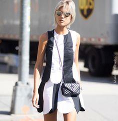 @lindatol_ at the @ralphlauren #fashionshow • • • More on @LofficielNl #Instatakeover #byMarinke @Marinke_Photography #NYFW #SS16  #LofficielNl #newyork #NewYorkFashionWeek #blogger #streetstyle