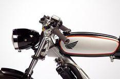 Custom Moped 77 Honda PA50III Fuel Tank