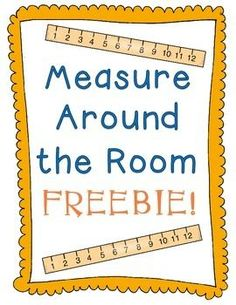 Measuring Around The Class Activity My students loved this activity! They especially loved choosing their own object to measure, as many of them chose to measure me! : ) Common Core Aligned 5.MD.A.1, 4.MD.A.1, 3.MD.A.1