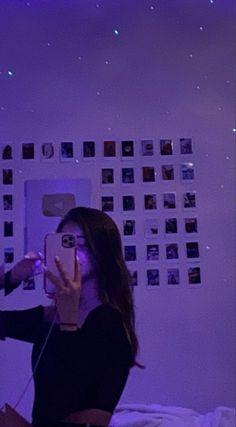 Cute Bedroom Ideas, Bedroom Inspo, Bedroom Decor, My New Room, My Room, Flipagram Instagram, Neon Room, Purple Rooms, Aesthetic Room Decor