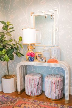 Ready for a sneak peek into our home? First up, our entryway design reveal! See how Adelé Lexington walked us through the process! Decor, Home Decor Inspiration, Interior, Home Remodeling, Entryway Decor, Cheap Home Decor, House Interior, Apartment Decor, Home Interior Design