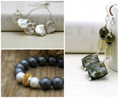 http://www.etsy.com/shop/cooljewelrydesign  Cool world of bohemian beaded jewelry ... modern beaded jewelry ... wire wrapped and often organic natural stone jewelry
