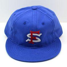 Ebbets - San Francisco Seals Cap (Adjustable Cotton) - Royal Blue
