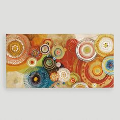 One of my favorite discoveries at WorldMarket.com: 'Momentary' Canvas