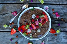 Chocolate Chia Pudding Share Plate — My Beach Kitchen #raw #sugarfree #iquitesugar #glutenfree #energy #chiaseedpudding #foodphotography