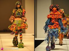 by students at Bunka Fashion College, Japan