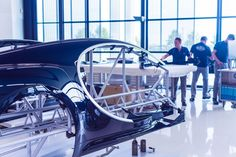 Inside the Bugatti factory: an exclusive look at the making of the $2.6 million Chiron - prestiious French car