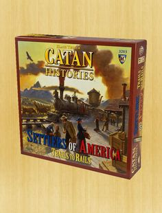 Catan Histories: Settlers of America™ Trails to Rails
