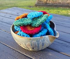 free crochet kitchen scrubbie pattern (these are the best if you know how to crochet!)