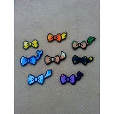 Hair Bows or Bow Ties Pokemon Eeveelution Inspired Bows ($4) ❤ liked on Polyvore featuring accessories, hair accessories, plastic hair clips, hair bows, beaded hair accessories, bow hair accessories and bow hair clips