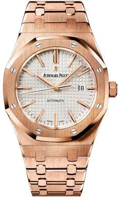 Audemars Piguet Royal Oak Automatic 41mm 15400or.oo.1220or.02  #AudemarsPiguet #AudemarsPiguetWatch #AudemarsPiguetWatches #AP #APWatch #APWatches Audemars Piguet Price, Audemars Piguet Watches, Audemars Piguet Royal Oak, Amazing Watches, Cool Watches, Watches For Men, Gents Watches, Watch Sale, Watch Brands