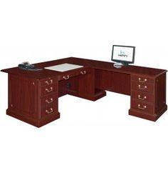 arc top l shaped desk by office source in 2019 stuff to buy l rh pinterest com