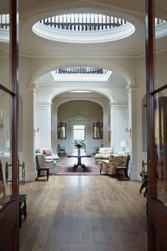 The Great Hall at HIllersdon House in Devon Devon House, Interior And Exterior, Interior Design, English House, Country Style Homes, English Countryside, Future House, Beautiful Homes, 19th Century