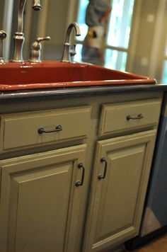 ... Coast Design Kitchen U0026 Bath In Mobile, Alabama. Love The Finish On This  Door. And The Rustic Pulls.