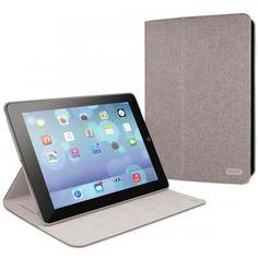 Grey cache slim convertible folio case for iPad Air