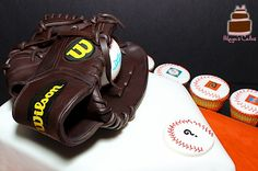 Making this cake was an amazing and very creative experience. Baseball Glove made out of Chocolate. Unique and Custom Cakes for all occasions!