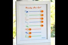 """A chart with simple icons for each task and a pin to move to the """"done"""" side. Photo: shop.tellychicago.com"""