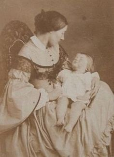 Post Mortem Photography: During the Victorian Era, death was frequent especially in children. Description from pinterest.com. I searched for…