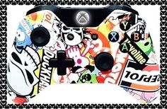 Master Modded Controller Xbox One Sticker Bomb