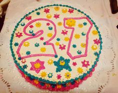 Twenty-seven years old cake!
