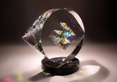 jack storms glass | Crystal sculpture Jack Storms