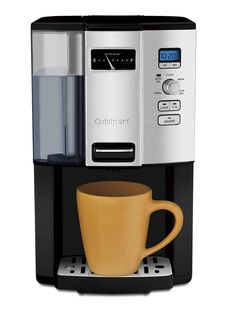 Cuisinart Espresso-on-Demand Programmable Coffeemaker Espresso With out the Carafe! Cuisinart lets you will have your espresso on demand! Best Drip Coffee Maker, Single Cup Coffee Maker, Single Serve Coffee, Barista, Espresso Machine Reviews, Coffee Maker Reviews, Carafe, Hot Coffee, Coffee Cups