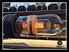 Steampunk Tischleuchte Basilikum industrielle Tischlampe