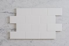 TileCloud   75 x 150 White Gloss Tiles