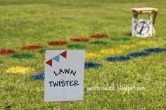 Lawn Twister... maybe mustaches instead of circles