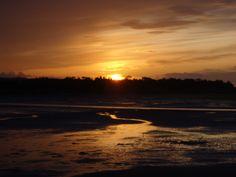 Sunset on Budle Bay