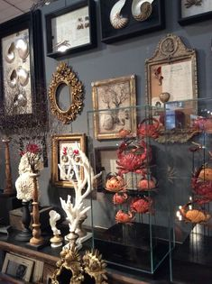 Decor, Interior Decorating, Cabinet Of Curiosities, Interior Inspiration, Eclectic Decor, House Interior, Home Deco, Gothic House, Displaying Collections