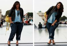 Jeans plus size [Sakina]