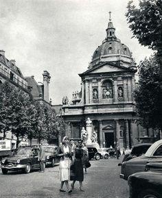 Paris 1950 La Sorbonne Photo:Janine Niepce